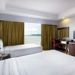 Отель D Varee Jomtien Beach 4* Улучшенный номер с различными типами кроватей фото 12