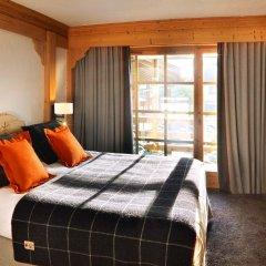 Отель M de Megève 5* Номер Делюкс с различными типами кроватей