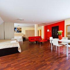 Отель Aparthotel Autosole Riga 4* Студия Делюкс с различными типами кроватей
