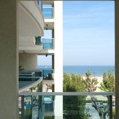 Отель Mercure Rimini Artis вид с балкона