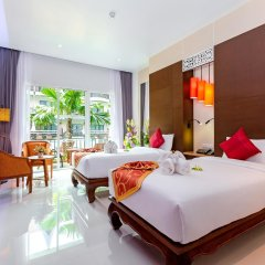 Отель Nipa Resort 4* Номер Делюкс с разными типами кроватей фото 6