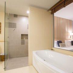 Отель Kalima Resort & Spa, Phuket 5* Семейный номер с видом на море с различными типами кроватей фото 7