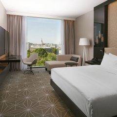 Отель Hilton Tallinn Park 4* Стандартный номер с разными типами кроватей фото 2
