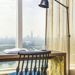 Novotel London Canary Wharf Hotel 4* Представительский люкс с различными типами кроватей