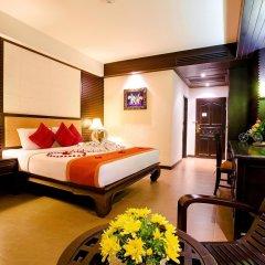 Отель Nipa Resort 4* Номер Делюкс с разными типами кроватей фото 7