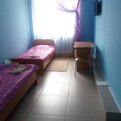Гостиница Чайка Кровать в общем номере с двухъярусной кроватью