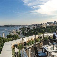 Отель Swissotel The Bosphorus Istanbul вид из окна