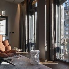 Отель Mandarin Oriental Barcelona 5* Улучшенный люкс с различными типами кроватей фото 2