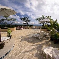 Отель Pacific Club Resort открытая веранда
