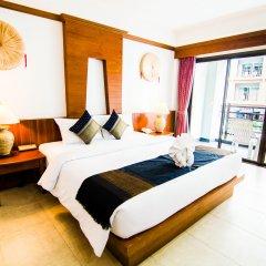 Отель Amata Patong 4* Номер Делюкс с различными типами кроватей фото 3