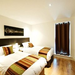 Отель Living by BridgeStreet, Manchester City Centre 4* Апартаменты с различными типами кроватей фото 2