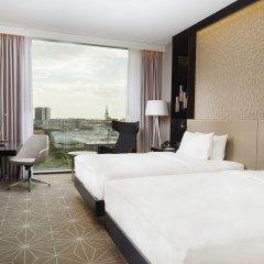 Отель Hilton Tallinn Park 4* Улучшенный номер с разными типами кроватей фото 4