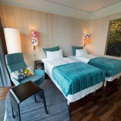 Отель Scandic Berlin Potsdamer Platz 4* Улучшенный номер с разными типами кроватей фото 5