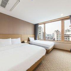 Отель Lumia Hotel2 Dongdaemun 3* Улучшенный номер с различными типами кроватей