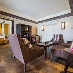 Отель Andaman White Beach Resort 4* Люкс с различными типами кроватей фото 10