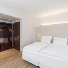 Hotel NH Düsseldorf City Nord 4* Улучшенный номер разные типы кроватей фото 7