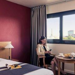 Отель Mercure Paris Porte de Versailles Expo 4* Стандартный номер с различными типами кроватей