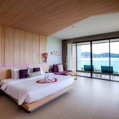 Отель Kalima Resort & Spa, Phuket 5* Семейный номер с видом на море с различными типами кроватей фото 2