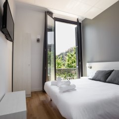 Отель Hostalin Barcelona Gran Via 3* Стандартный номер с различными типами кроватей фото 2