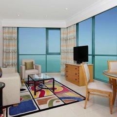 Отель Hilton Dubai Jumeirah 5* Представительский люкс с различными типами кроватей фото 4