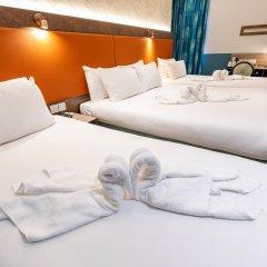 Queens Hotel 3* Стандартный семейный номер с двуспальной кроватью