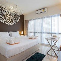 Отель Coral Inn 3* Улучшенный номер разные типы кроватей фото 2