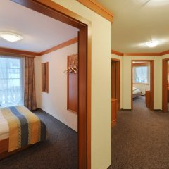Wellness Hotel La Ginabelle 4* Апартаменты с различными типами кроватей