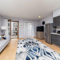 Отель Apartament Nowy Swiat by Your Freedom Апартаменты Премиум с различными типами кроватей