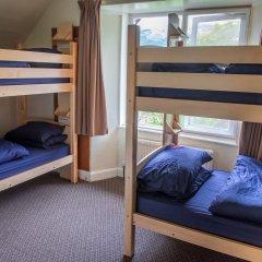 Rowardennan Youth Hostel Кровать в мужском общем номере с двухъярусной кроватью