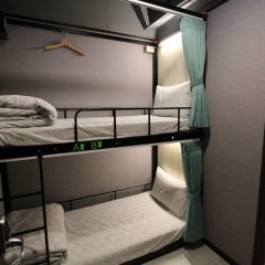 Backpackers Hostel-Ximending branch Стандартный номер с двухъярусной кроватью