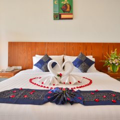 Отель Tri Trang Beach Resort by Diva Management 4* Номер Делюкс разные типы кроватей фото 2