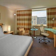 Отель Hilton Düsseldorf 5* Стандартный номер разные типы кроватей фото 3
