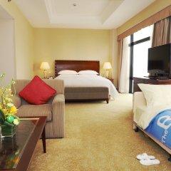 Hotel Equatorial Shanghai 4* Люкс с различными типами кроватей