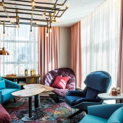 Отель Novotel London Canary Wharf Hotel Великобритания, Лондон - 1 отзыв об отеле, цены и фото номеров - забронировать отель Novotel London Canary Wharf Hotel онлайн интерьер отеля фото 2