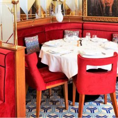 Отель Hôtel Restaurant Au Bœuf Couronné ресторан