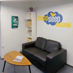 Отель CheapSleep Helsinki лобби фото 2