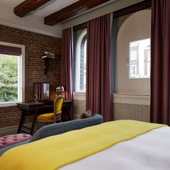 Hotel Pulitzer Amsterdam 5* Представительский номер с двуспальной кроватью