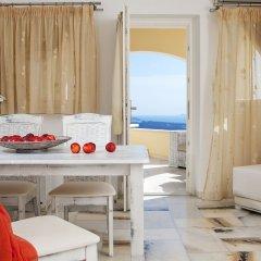 Santorini Princess Luxury Spa Hotel 5* Улучшенные апартаменты с различными типами кроватей фото 2