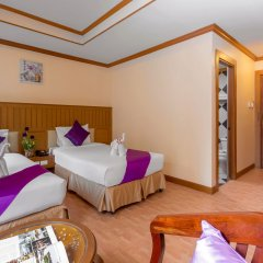 Отель Bangkok Residence 2* Улучшенный номер с различными типами кроватей фото 2
