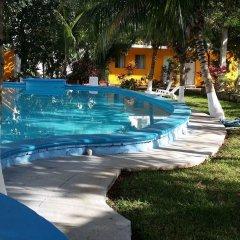 Отель Mansion Giahn Bed & Breakfast Мексика, Канкун - отзывы, цены и фото номеров - забронировать отель Mansion Giahn Bed & Breakfast онлайн открытый бассейн