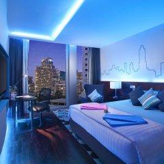 Отель Galleria 10 Sukhumvit Bangkok by Compass Hospitality 4* Номер Делюкс с различными типами кроватей фото 9