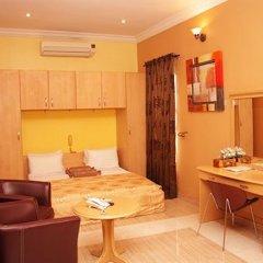 Solitude Hotel Victoria Island 4* Стандартный номер с различными типами кроватей