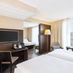 Отель NH Collection Berlin Mitte Am Checkpoint Charlie 4* Стандартный номер с разными типами кроватей фото 15