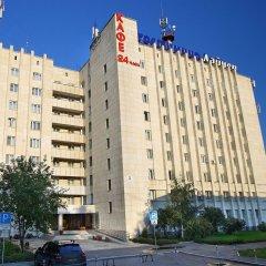 Лайнер Аэропорт-Отель Екатеринбург вид на фасад фото 2