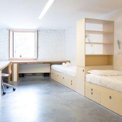 Отель We_Crociferi Кровать в общем номере с двухъярусной кроватью
