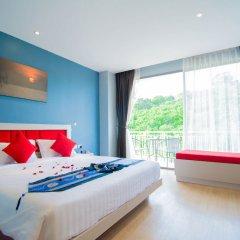 Отель The Blue комната для гостей