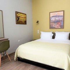 Отель Athens City Studios Студия Делюкс с двуспальной кроватью