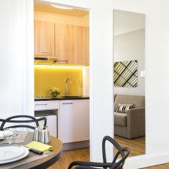 Отель Citadines Tour Eiffel Paris 4* Апартаменты с различными типами кроватей
