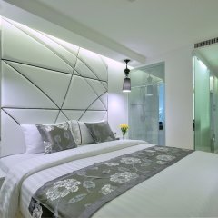 Отель Sukhumvit Suites 3* Улучшенный номер с различными типами кроватей фото 10