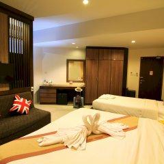 Отель Cool Residence 3* Номер Делюкс разные типы кроватей фото 3